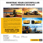 Mantrac Kenya Ltd. is the sole authorized dealer for Caterpillar Products in Kenya.